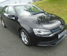 USED 2014 VOLKSWAGEN JETTA SE BLUEMOTION TECH SALOON 99,854 MILES IN BLACK FOR SALE | CARS