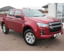 USED 2021 ISUZU D-MAX DL20 DOUBLE CAB NOT SPECIFIED 250 MILES IN RED FOR SALE | CARSITE