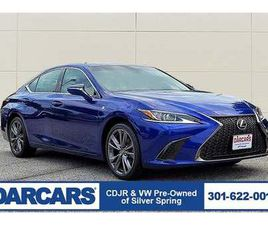 BLUE COLOR 2020 LEXUS ES 350 F SPORT FOR SALE IN SILVER SPRING, MD 20904. VIN IS 58AGZ1B15