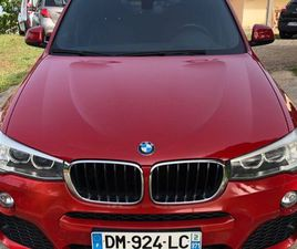 BMW X4 XDRIVE20D PACK M À SAISIR/GARANTIE/4XCB