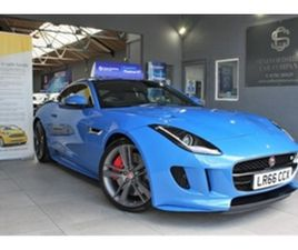 USED 2016 JAGUAR F-TYPE BRITISH DESIGN EDITION AWD COUPE 24,000 MILES IN ULTRA BLUE FOR SA
