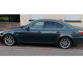 BMW 520D E60 LCI EN ÉTAT ET EN PANNE