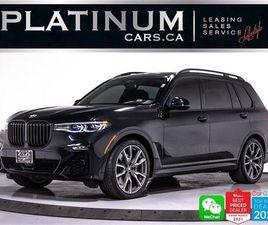 USED 2020 BMW X7 M50I 523HP, MSPORT, PREM PKG, ADVANCED DRIVING PKG