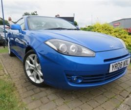 USED 2008 HYUNDAI S COUPE 2.0 SIII 3D 141 BHP COUPE 57,000 MILES IN BLUE FOR SALE | CARSIT