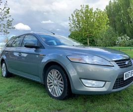 2008 FORD MONDEO 2.0 TDCI GHAI FULL SERVICE HISTORY