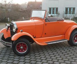 FORD MODEL A ROEDSTER,HOT ROD, CHEVY, OLDTIMER