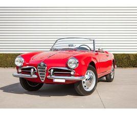 1959 ALFA ROMEO GIULIETTA - SPIDER 750D 'PASSO CORTO'