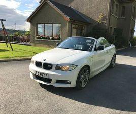 BMW 1 SERIES CONVERTIBLE (2.0 DIESEL)