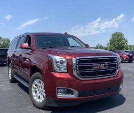 RED COLOR 2017 GMC YUKON XL SLT FOR SALE IN CHINA TOWNSHIP, MI 48054. VIN IS 1GKS2GKC4HR11