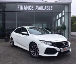 HONDA CIVIC CLICK COLLECT 1.0T 130BHP I-VTEC TURB FOR SALE IN TIPPERARY FOR €18,950 ON DON