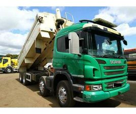 2013 SCANIA P400 8X4 TIPPER TRUCK TARMAC ACTROS DOUBLEM DRIVE VOLVO