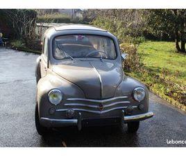 4CV RENAULT MODÈLE DE LUXE 1954