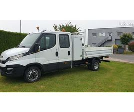 IVECO DAILY BENNE DOUBLE CABINE COFFRE 35C14