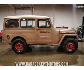 JEEP WILLYS 1950 TOUT INCLUS