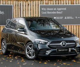 NEARLY NEW 2020 (20) MERCEDES-BENZ B-CLASS B200 AMG LINE 5DR IN GRANGEMOUTH