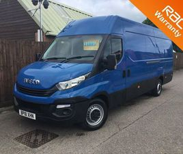 2018 IVECO DAILY S CLASS 2.3TD 35S14V 3520 H3 - £24,995