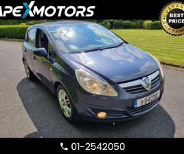 OPEL CORSA TOP SPEC SE 1.2I VVT (A/C) 5DR .ONE LA FOR SALE IN MEATH FOR €4,749 ON DONEDEAL