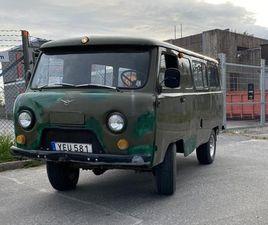 UAZ 452 BUHANKA -78 4X4 LÅGVXL