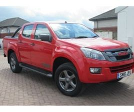 USED 2016 ISUZU D-MAX TD FURY DCB NOT SPECIFIED 70,000 MILES IN RED FOR SALE | CARSITE