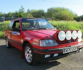 1987 PEUGEOT 309 GTI PHASE 1 GROUP N GOLD STAR CHAMPIONSHIP CAR, RALLY CAR