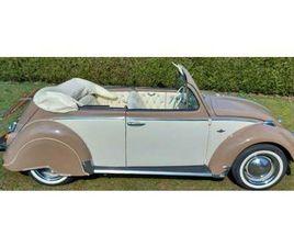 ② VW KEVER CABRIO 1968 2 TONE COLOR - VOLKSWAGEN
