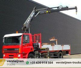 ② DAF CF 75.250 / HIAB 195 CRANE / KRAN - CAMIONS