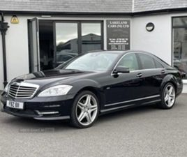 USED 2011 MERCEDES-BENZ S CLASS BLUETEC B-FCY CDI AU SALOON 121,000 MILES IN BLACK FOR SAL