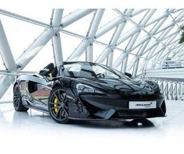 MCLAREN 570S SPIDER 3.8 V8 | NOSELIFT | SPEED YELLOW ACCENTS |