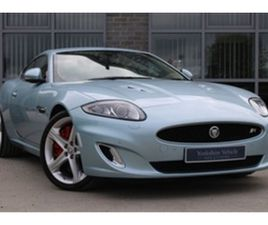 USED 2012 JAGUAR XKR 5.0 SUPERCHARGED 2DR AUTO COUPE 31,000 MILES IN BLUE FOR SALE | CARSI