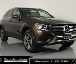 BROWN COLOR 2018 MERCEDES-BENZ GLC 300 FOR SALE IN ONTARIO, CA 91761. VIN IS WDC0G4JB7JV08