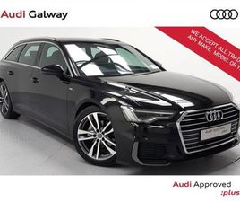 AUDI A6 AVANT 2.0TDI 204BHP S LINE 40 AUTO FOR SALE IN GALWAY FOR €48,900 ON DONEDEAL