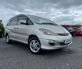 2006 TOYOTA PREVIA 7 SEATER FOR SALE IN DUBLIN FOR €2,999 ON DONEDEAL