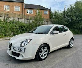 2013 ALFA ROMEO MITO 1.3 DIESEL SPRINT 12 MONTHS MOT FREE ROAD TAX DELIVERY AVAI