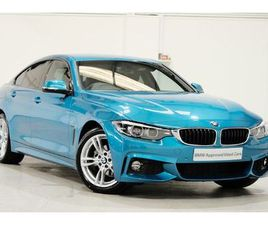 BMW 4 SERIES GRAN COUPE 420I M SPORT GRAN COUPE 2.0 5DR