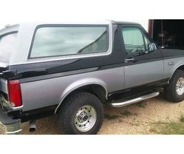 FOR SALE: 1995 FORD BRONCO IN CADILLAC, MICHIGAN