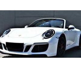 MAGNIFIQUE PORSCHE 911 (991) CARRERA CABRIOLET GTS - MALUS INCLUS ET SOUMIS LOA