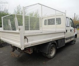 IVECO DAILY BENNE DOUBLE CABINE