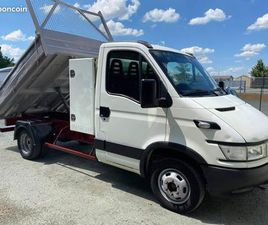 IVECO DAILY III CHÂSSIS CABINE BENNE 35C10 2.3 TD 100CV PACK CLIM - CT OK