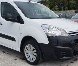 18' BERLINGO 3 SEATER/GOOD SPEC FOR SALE IN LAOIS FOR €11,995 ON DONEDEAL