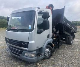 2013 DAF 45:160 NEW TIPPER PM5 SERIES CRANE FOR SALE IN DOWN FOR €1 ON DONEDEAL
