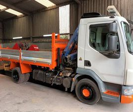 2012 12TON DAF 45:160 TIPPER GRAB FOR SALE IN DOWN FOR €1 ON DONEDEAL