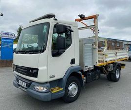2013 DAF LF 45 160 7.5 TON DROPSIDE TIPPER FOR SALE IN ARMAGH FOR €1 ON DONEDEAL