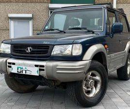 HYUNDAI GALLOPER 2.5 TDI//TAXE UTILITAIRE//4X4//SUV//TOUT TERRAIN//