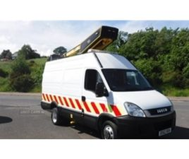 USED 2012 IVECO DAILY 50C15 CHERRY PICKER WITH VERSALIFT EUROTEL 38LF NOT SPECIFIED 89,567