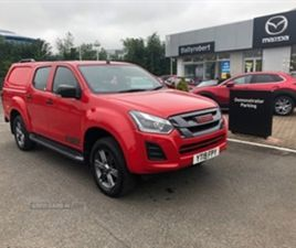 USED 2019 ISUZU D-MAX 1.9 FURY DOUBLE CAB 4X4 NOT SPECIFIED 16,430 MILES IN RED FOR SALE |