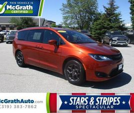 BRONZE COLOR 2018 CHRYSLER PACIFICA TOURING-L FOR SALE IN DUBUQUE, IA 52002. VIN IS 2C4RC1