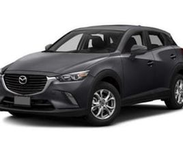 GRAY COLOR 2016 MAZDA CX-3 GRAND TOURING FOR SALE IN SILVER SPRING, MD 20904. VIN IS JM1DK