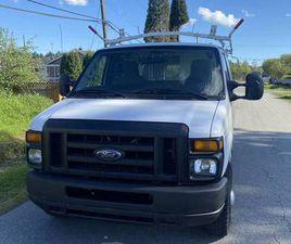 2012 FORD E250 CARGO EXTENDED FORD E250 E-250 LOW KM 157,000 KM
