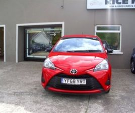 USED 2019 TOYOTA YARIS ACTIVE VVT-I HATCHBACK 16,000 MILES IN RED FOR SALE | CARSITE