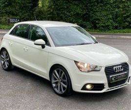 USED 2012 AUDI A1 1.6 SPORTBACK TDI SPORT 5D 103 BHP HATCHBACK 99,984 MILES IN WHITE FOR S